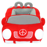 Car Themed Pet Bed  with Removable Inside Cushion - Available in 4 Colors