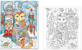 Express your colors Creative Cats Coloring Book