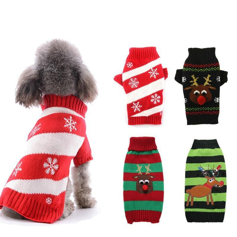 Christmas & Winter Themed Dog Coats