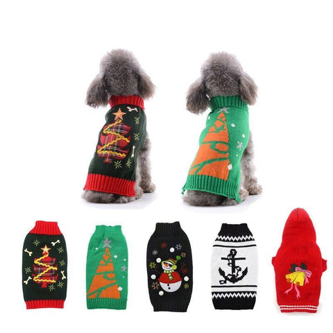 Holiday Sublime X-Small to Medium Dog Sweaters
