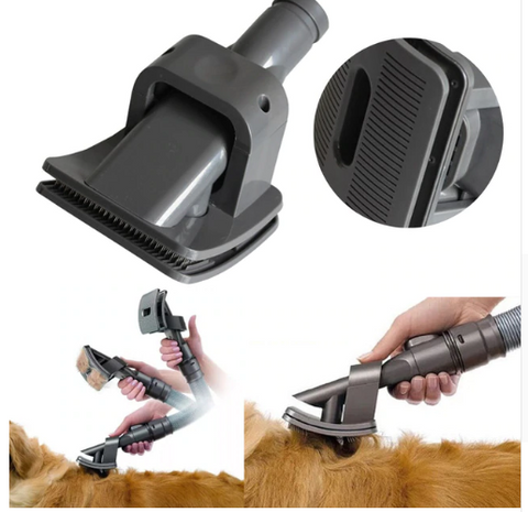 Pet Grooming Brush Attachment For Dyson Vacuums, Dog Grooming, Cat Grooming, Petshoplane.com, Vacuum brush, Pet Brush, Pet Cleaning