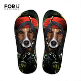 Men's flip flops. beach shoes, beach flip flops, terrier flip flop.