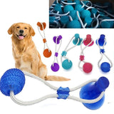 Pull-it and Play, Dog pull toy, rubber pull toy, suction cup pull toy, Dog toys, PetShopLane.com