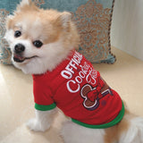 Pet Clothes, Pet Christmas Clothes, Holiday Clothes for Dogs, Cookie Tester, PetShopLane.com, Dog Jacket, Cat Jacket, Cat Clothes, Fun Clothes for Dogs