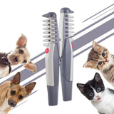 Electric Dog & Cat Grooming Comb - Easily Removes Knots & Matting, Dog Grooming, Cat Grooming, PetShopLane.com, DeShedding Comb, Electric Pet Comb, Deshed Dogs, Deshed Cats