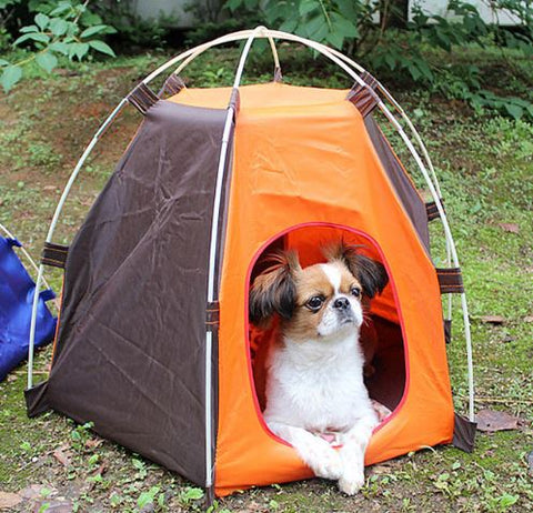 On-the go waterproof Pet Camping Tent, pet tent, pet shelter, camping accessory, dog tent, dog shelter, waterproof pet shelter