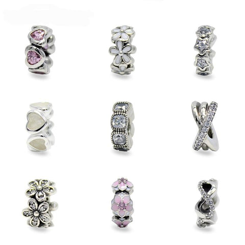 Sterling Silver Bead Spacer Collection