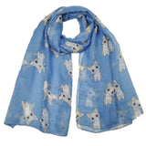 Large Cat Pattern Scarf  - Available in 6 Colors