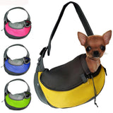 Cross-Over Mesh Pet Sling - Available in 2 Sizes & 4 Colors