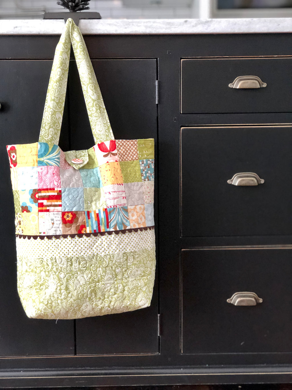 Patchwork Market Tote
