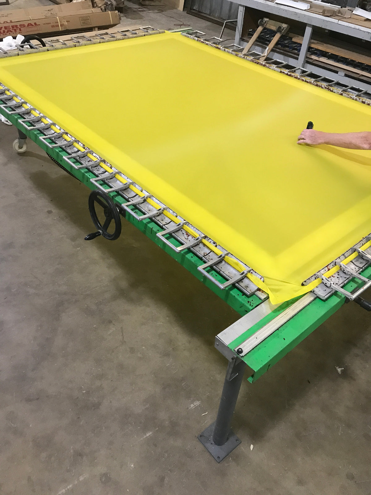 Silk screen remesh for sign printers