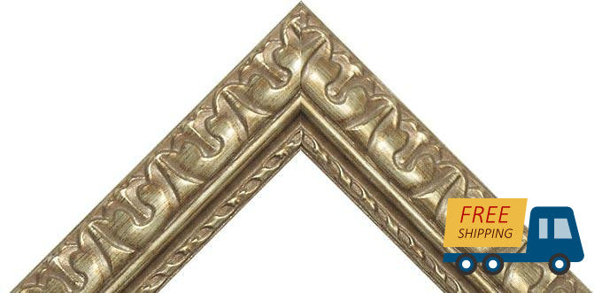 "Egyptian Scratched Bronze frame , Great for 3/4"" Canvas, (Different Sizes)"
