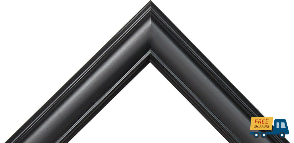 "Satin Black Picture Frame, Great for 3/4"" Canvas--Sunbelt Mfg. Co."