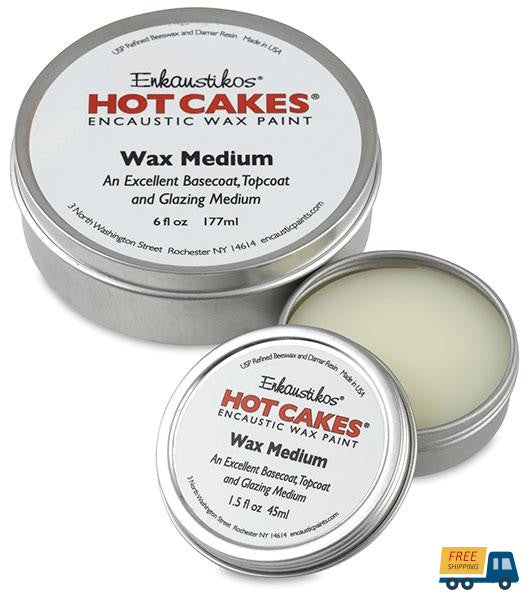 Enkaustikos Hot Cakes Wax Medium 6 Oz