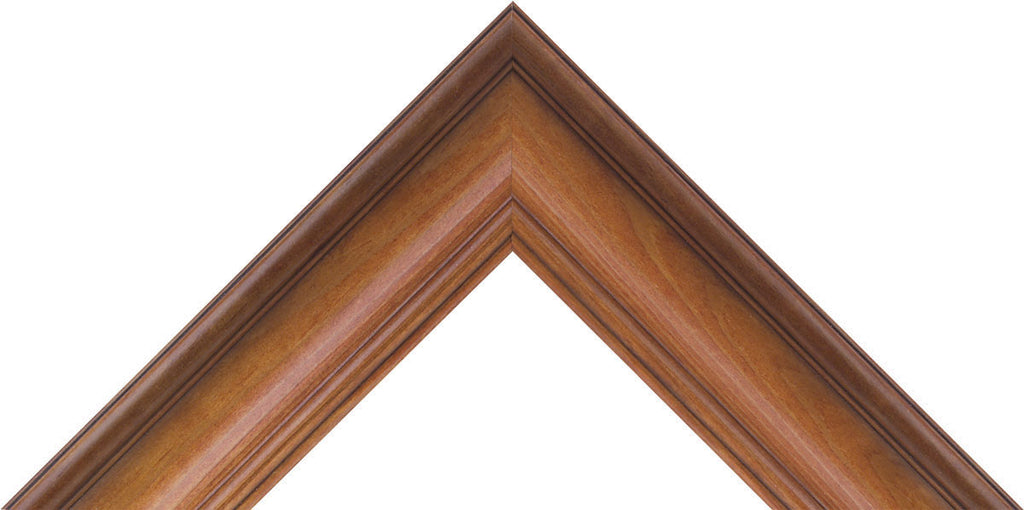"Texas Pecan (solid wood) Picture Frame 1"" profile for 3/4"" deep canvas - Sunbelt Mfg. Co."