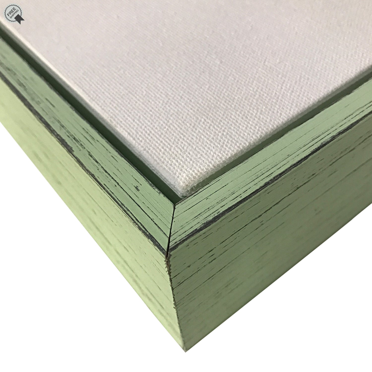 "Country Mint Floater frame 2"" deep profile, for 1.5"" Canvas, (Different Sizes)--Sunbelt Mfg. Co."