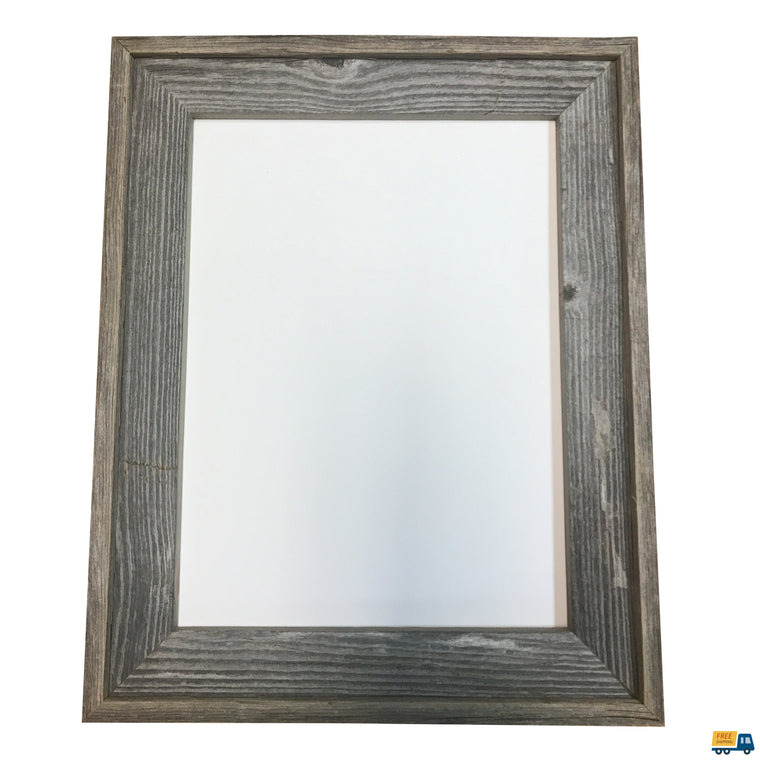Genuine Wisconsin Barnwood Picture Frame, great for 3/4