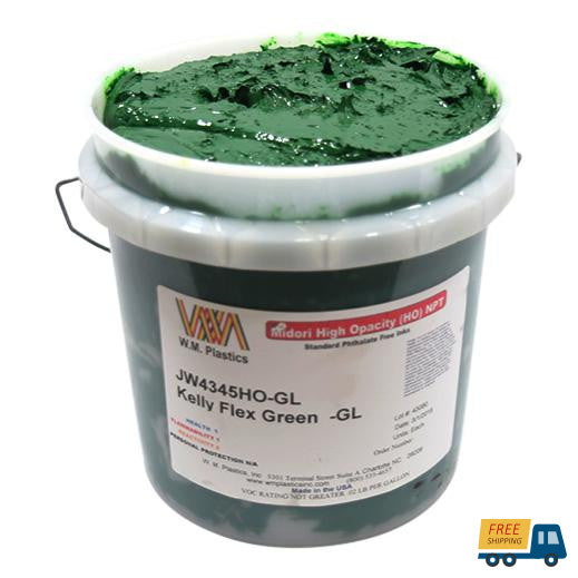 Kelly Flex Green- Plastisol Ink, (quart)--Sunbelt Mfg. Co.