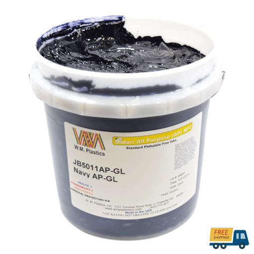 Navy- Plastisol Ink, (quart)--Sunbelt Mfg. Co.