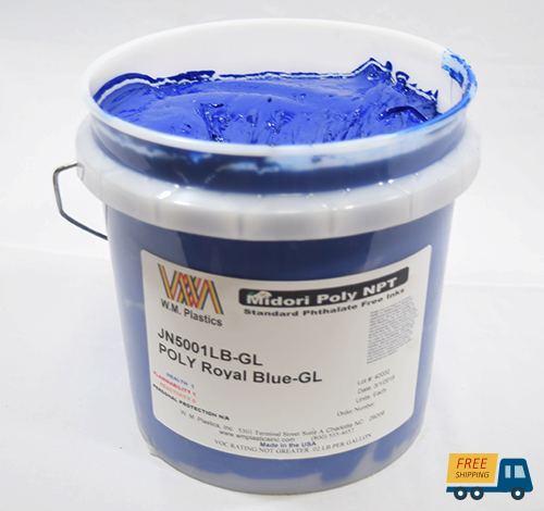 Royal Blue- Plastisol Ink, (quart)