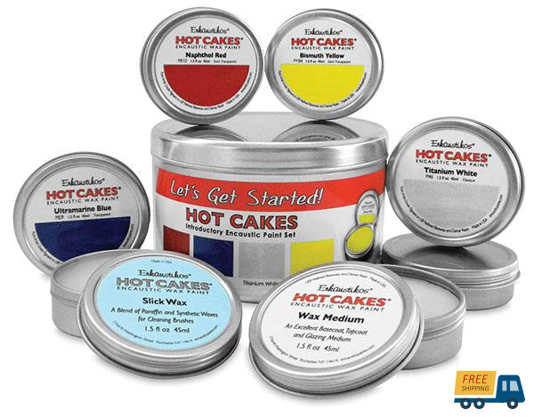 Let's Get Started! Hot Cakes Introductory Paint Set