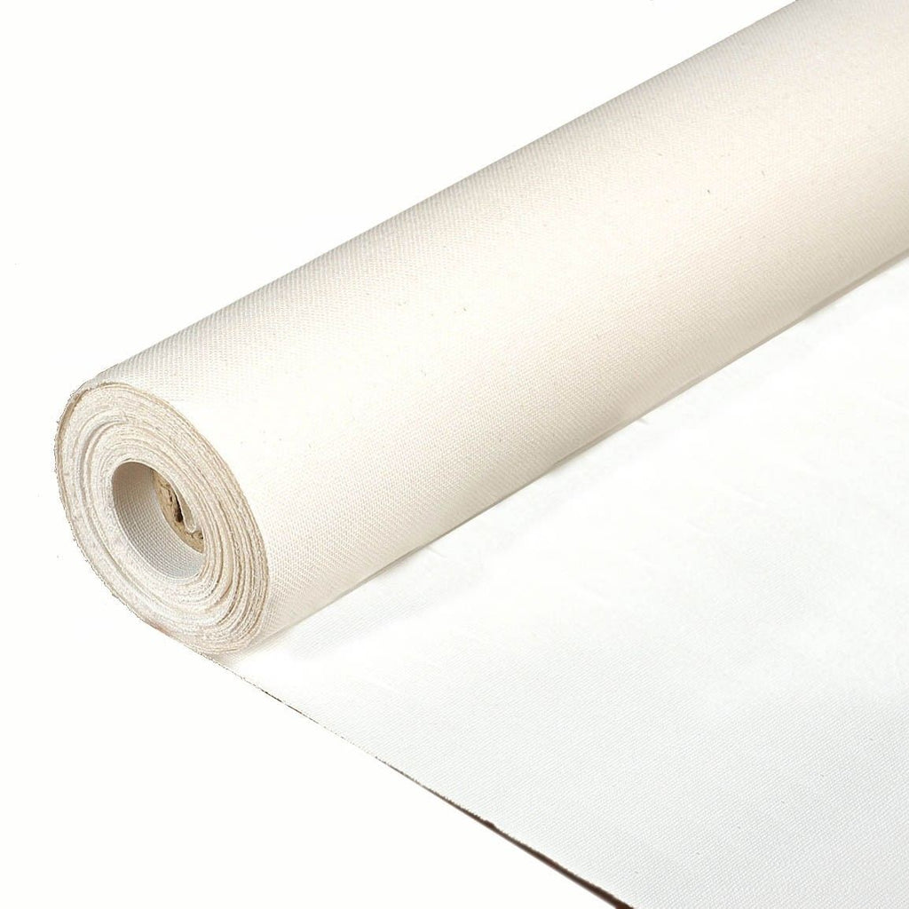 "Rolled Primed Cotton/Poly portrait smooth Canvas, 60"" wide. 6, 20, 50 and 100 yard roll. - Sunbelt Mfg. Co."