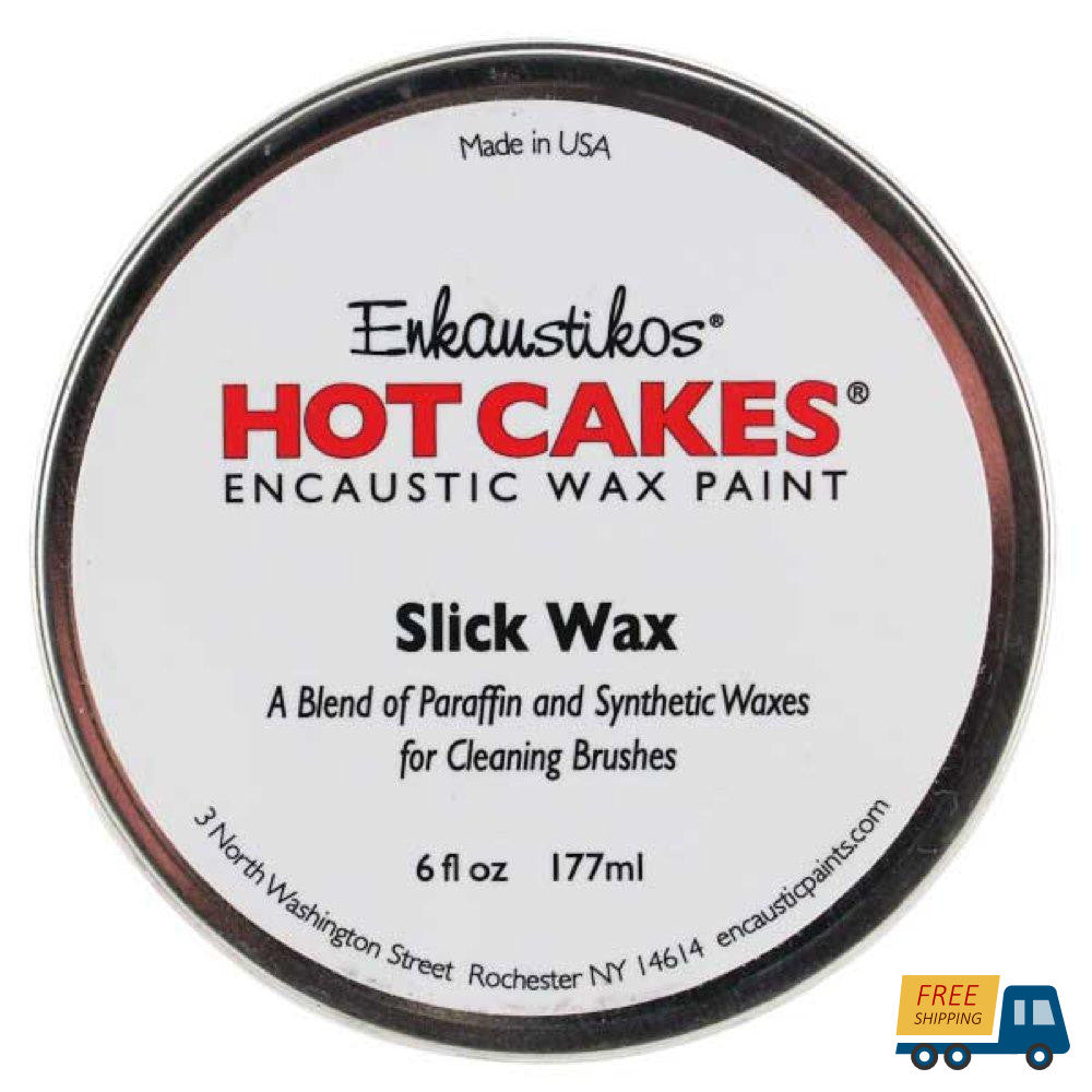 Enkaustikos Hot Cakes Slick Wax 6oz--Sunbelt Mfg. Co.