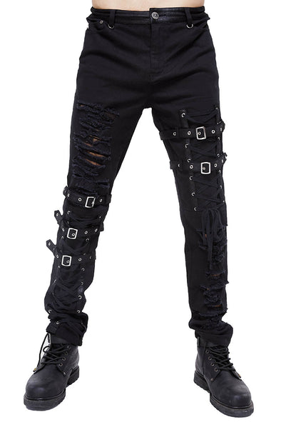 Devil Fashion Punk Dystopia Pants - Vampirefreaks Store