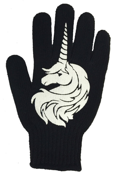 Unicorn F*** You Work Gloves