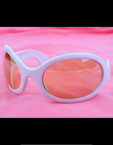 Alien Sunglasses (White)