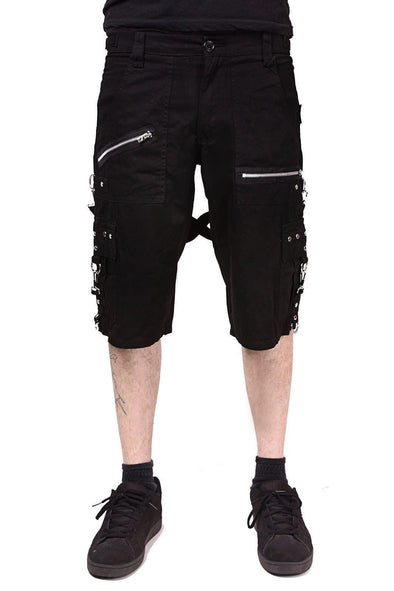 Tripp Punk Shorts - Black - Vampirefreaks Store