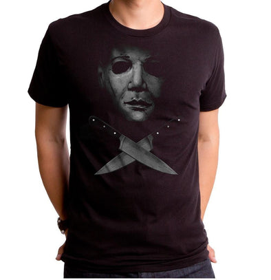 Halloween Crossed Knives Mens T-Shirt