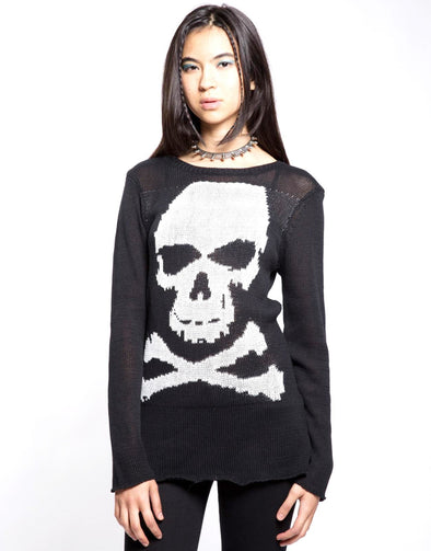 Tripp Skull Sweater