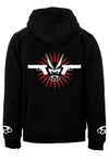 VampireFreaks Muscle & Hate Zipper Hoodie