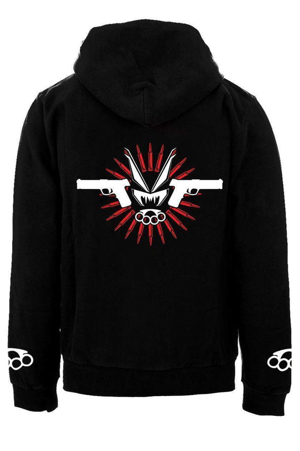 VampireFreaks Muscle & Hate Zipper Hoodie - Vampirefreaks Store