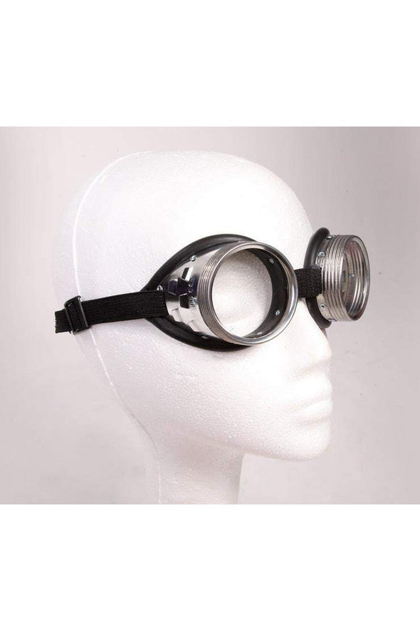 Cyber Steampunk Goggles - Clear Lens