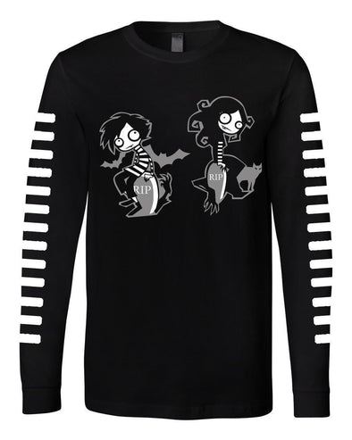 VampireFreaks Graveyard Freaks Long Sleeve T Shirt