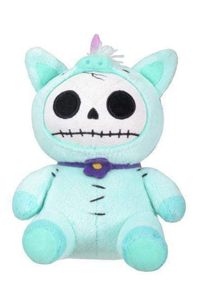 creepy kawaii unicorn plush stuffed animal toy