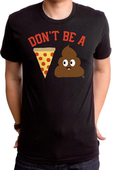 Pizza Poop Men's T-Shirt