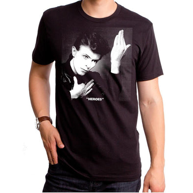 David Bowie Heroes Men's T-Shirt - Vampirefreaks Store
