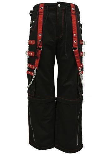 Tripp Stud Step Up Chain Pants (Red)