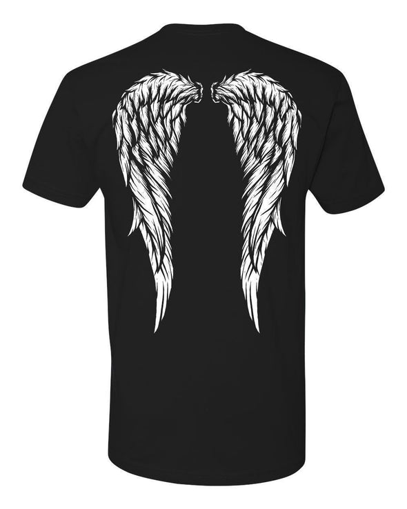 VampireFreaks Angel Wings Mens T-Shirt - Vampirefreaks Store