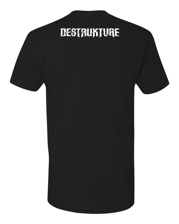 Destrukture Harly's House of Cards Mens T-Shirt - Vampirefreaks Store