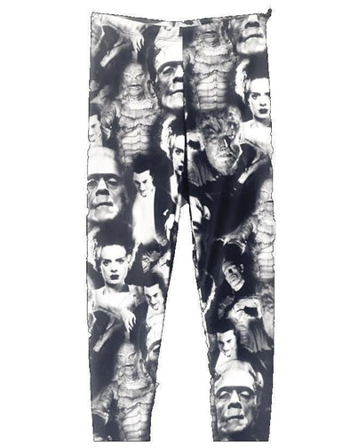 Universal Monsters Collage Leggings