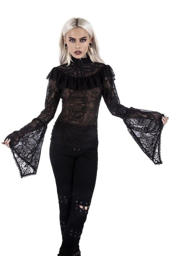 Killstar Ladies Morte Mistress Top