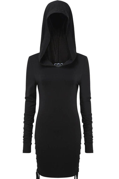 Killstar Ladies Eleanor Hood Dress