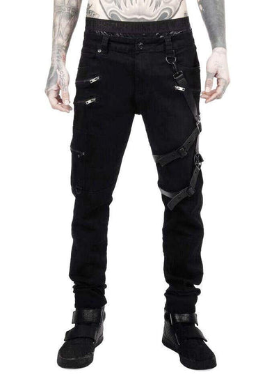 Killstar Death Wish Trousers - Vampirefreaks Store