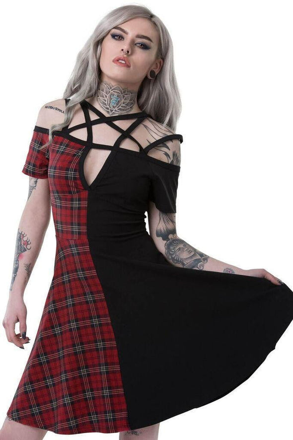 Killstar Wretched Skater Dress