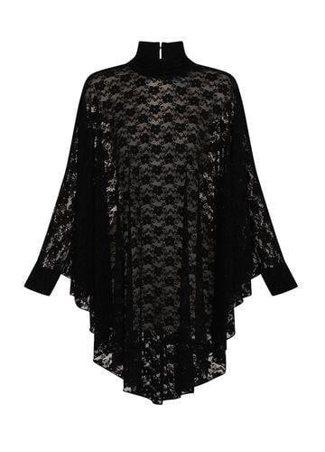 Necessary Evil Gothic Lydia Lace Drape Dress