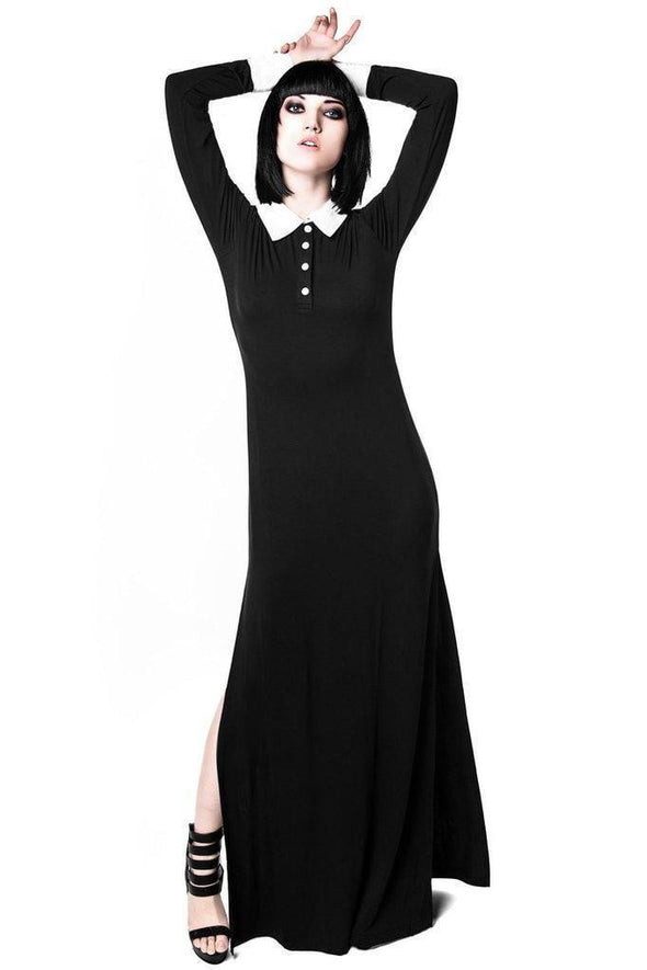Killstar Cemetery Lane Maxi Dress